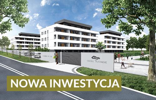 Osiedle Platanove - Spółczesna zabudowa wielorodzinna w Katowicach
